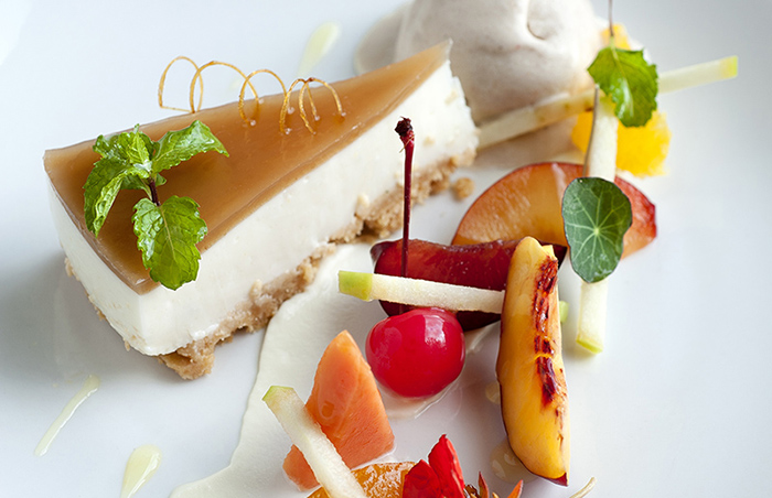 """""""Zambia's First Dessert"""": Sour Milk Cheesecake with Musika Jelly"""