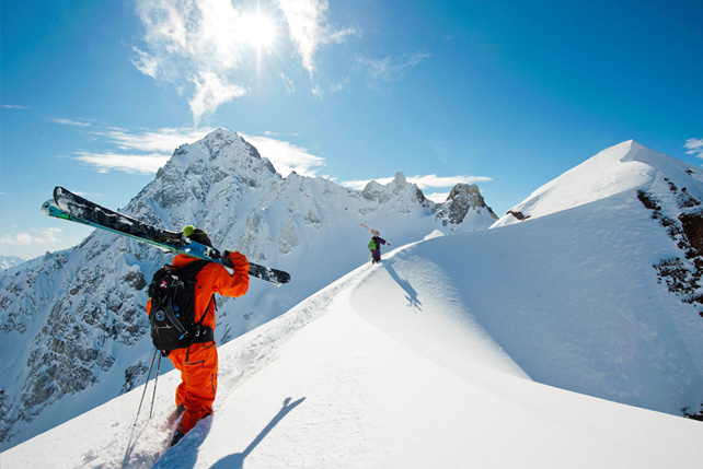 Skiing in South America - Adventure - Ker Downey