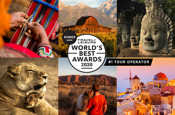Ker & Downey named Travel + Leisure's World Best Tour Operator