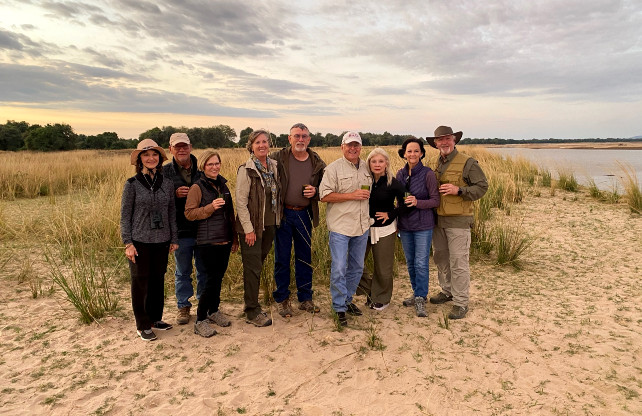 luxury safari with friends - zambia - south africa