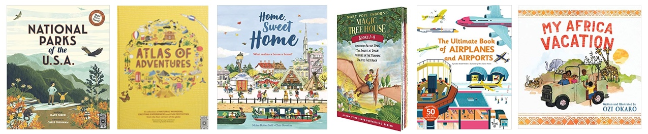 kids travel book recommendations