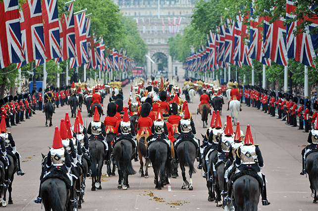 london trooping of the color travel