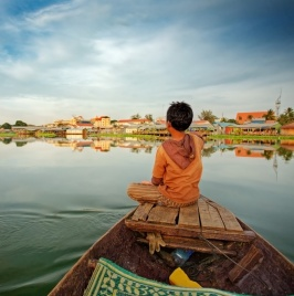 Floating the Tonle Sap Lake